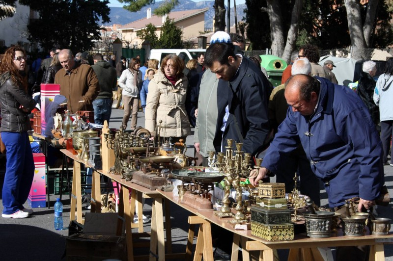 Sunday 26th January 2020 Cehegin second-hand and antiques fair