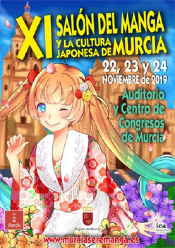<span style='color:#780948'>ARCHIVED</span> - 22nd to 24th November XI Salón del Manga de Murcia; Murcia Se Remanga