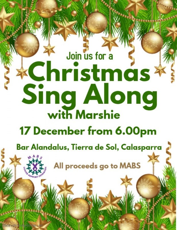 17th December MABS Calasparra Christmas Sing-along