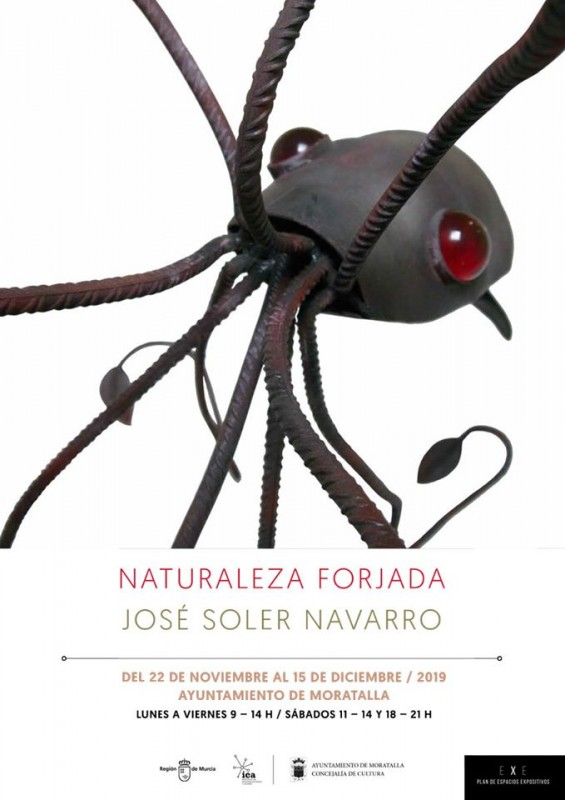 22nd November to 15th December Moratalla exhibition: Naturaleza Forjada