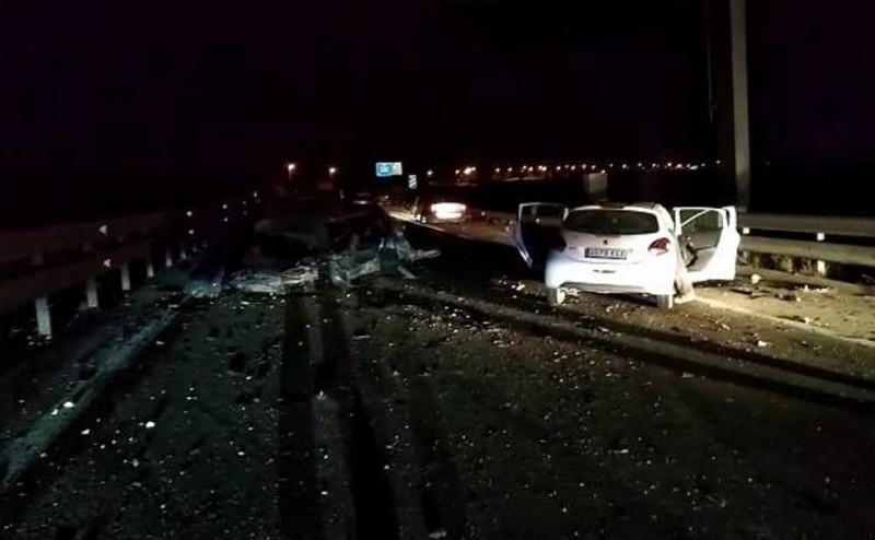 One dead and numerous injured in multiple collision on the AP-7 in San Javier