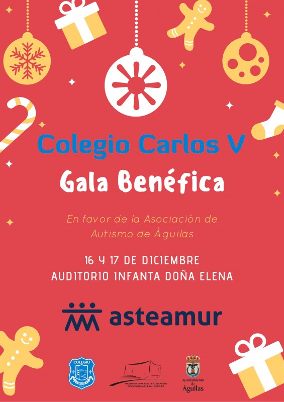 16th and 17th December Águilas benefit concert for Autism sufferers