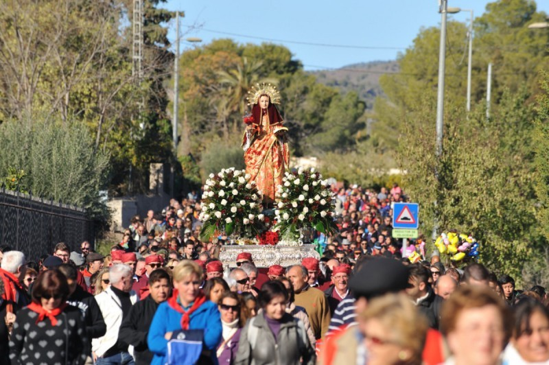 <span style='color:#780948'>ARCHIVED</span> - 29th November to 15th December, annual fiestas in honour of Santa Eulalia de Mérida in Totana
