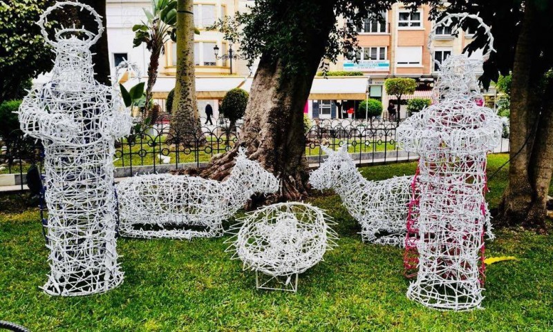 Thursday 5th December Águilas switches on its Christmas lights