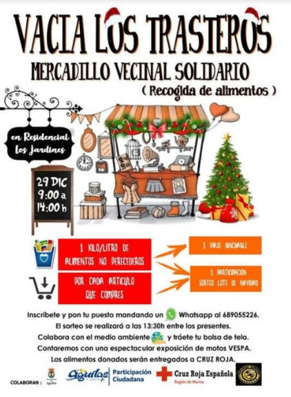 29th December, solidarity food collection event in Águilas