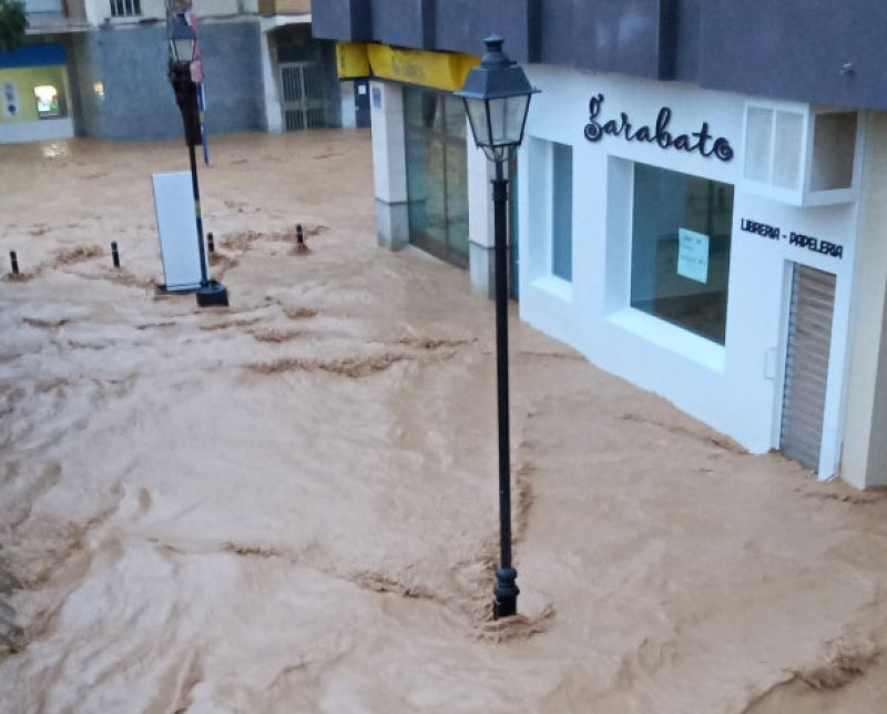 <span style='color:#780948'>ARCHIVED</span> - Los Alcázares flooded again as the second gota fría of the autumn strikes