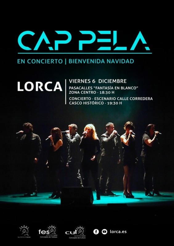 <span style='color:#780948'>ARCHIVED</span> - 6th December Christmas switch-on in Lorca