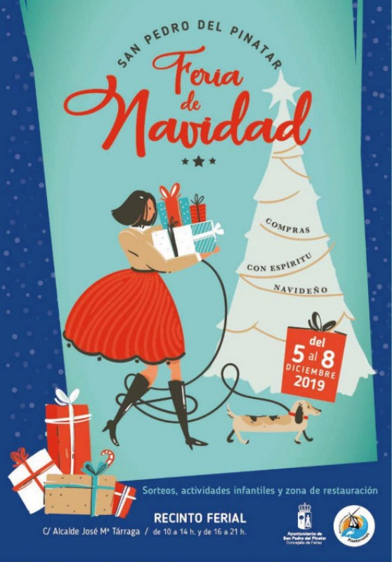 <span style='color:#780948'>ARCHIVED</span> - 5th to 8th December, Christmas Fair in San Pedro del Pinatar