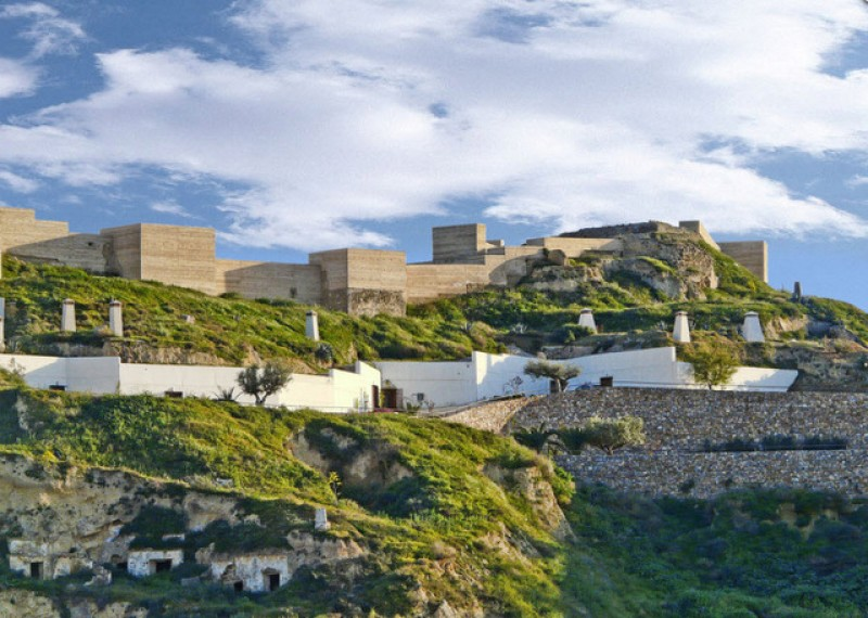 Puerto Lumbreras: Saturdays in December tours of the Medina Nogalte castle and cave house complex
