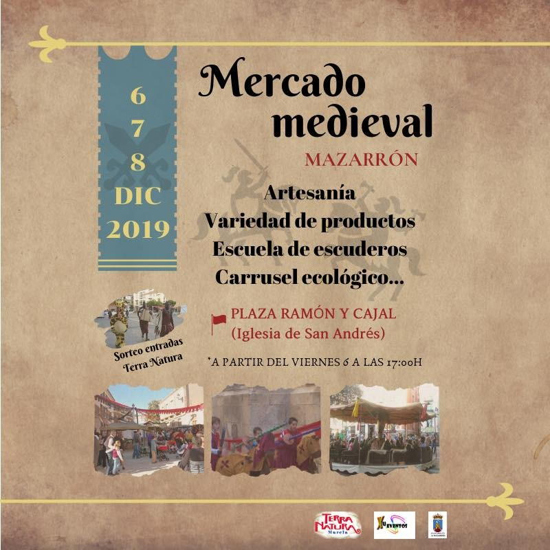 <span style='color:#780948'>ARCHIVED</span> - 6th to 8th December Mazarron Mediaeval market