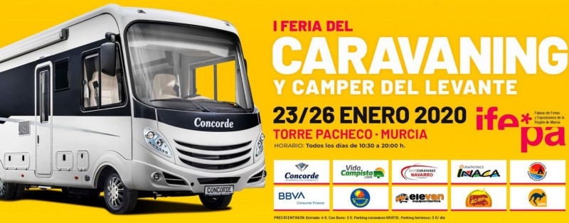 <span style='color:#780948'>ARCHIVED</span> - 23rd to 26th January, Camper Van and Motor Home fair in Torre Pacheco
