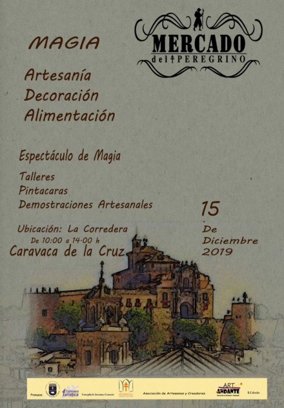 Sunday 15th December Artisan market in Caravaca de la Cruz