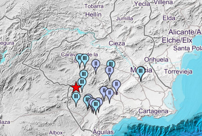 <span style='color:#780948'>ARCHIVED</span> - Schools evacuated as 3.6 mbLg earthquake hits the Lorca countryside