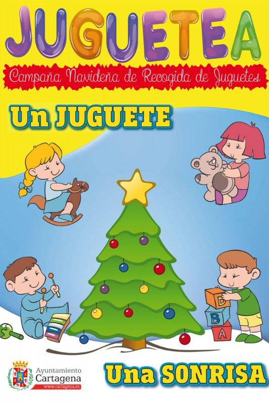 <span style='color:#780948'>ARCHIVED</span> - Bring a smile to a child this Christmas; annual toy collection campaign underway in Cartagena