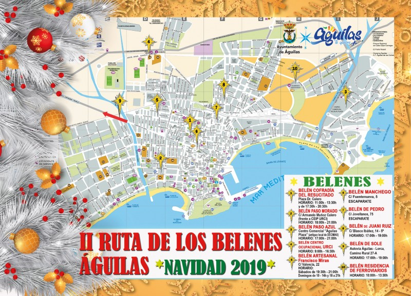 Route of the nativities in Águilas