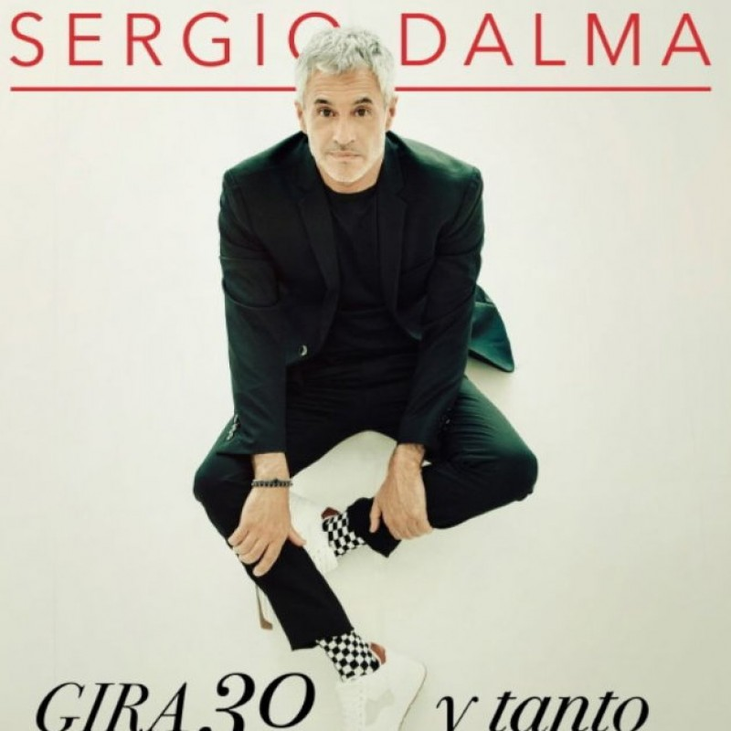 24th January, Sergio Dalma at the Auditorio Víctor Villegas in Murcia