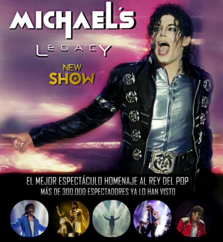 28th and 29th March, Michael Jackson tribute show Michael's Legacy at the Auditorio Víctor Villegas in Murcia
