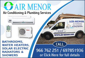 Air Menor Plumbing and Air conditioning Services and Repairs
