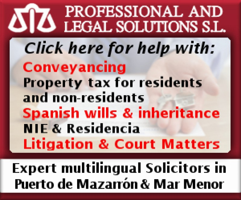 PALS Solicitors Puerto de Mazarrón and Mar Menor