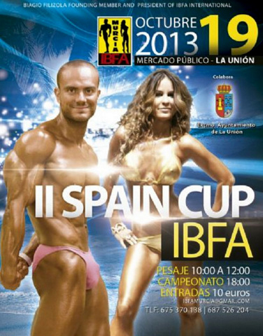 <span style='color:#780948'>ARCHIVED</span> - 19th October, Spain Cup IBFA de Culturismo