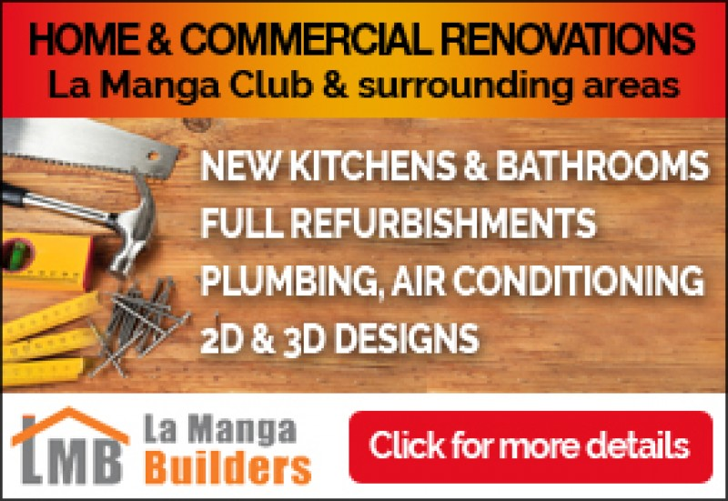 La Manga Builders construction and maintenance services