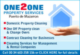 One2one Property Cleaning Services Puerto de Mazarron