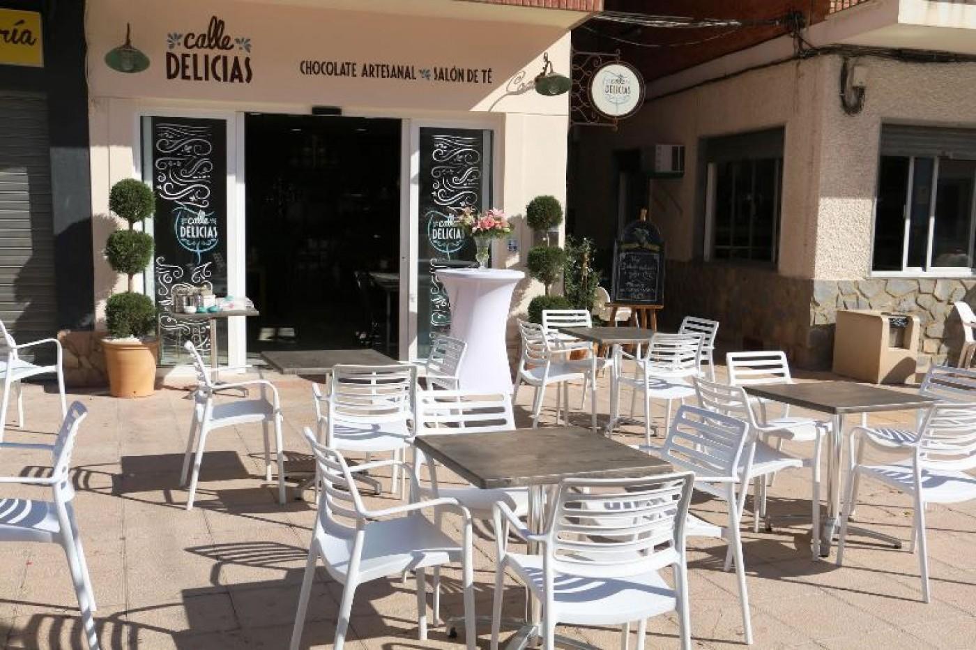 Calle Delicias café and chocolate specialists in Mazarrón