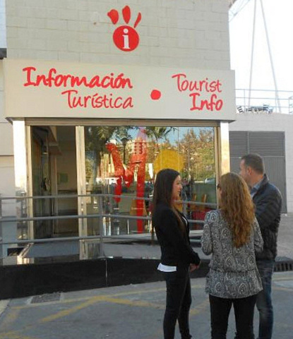 <span style='color:#780948'>ARCHIVED</span> - Tourist information point Avenida Juan Carlos I