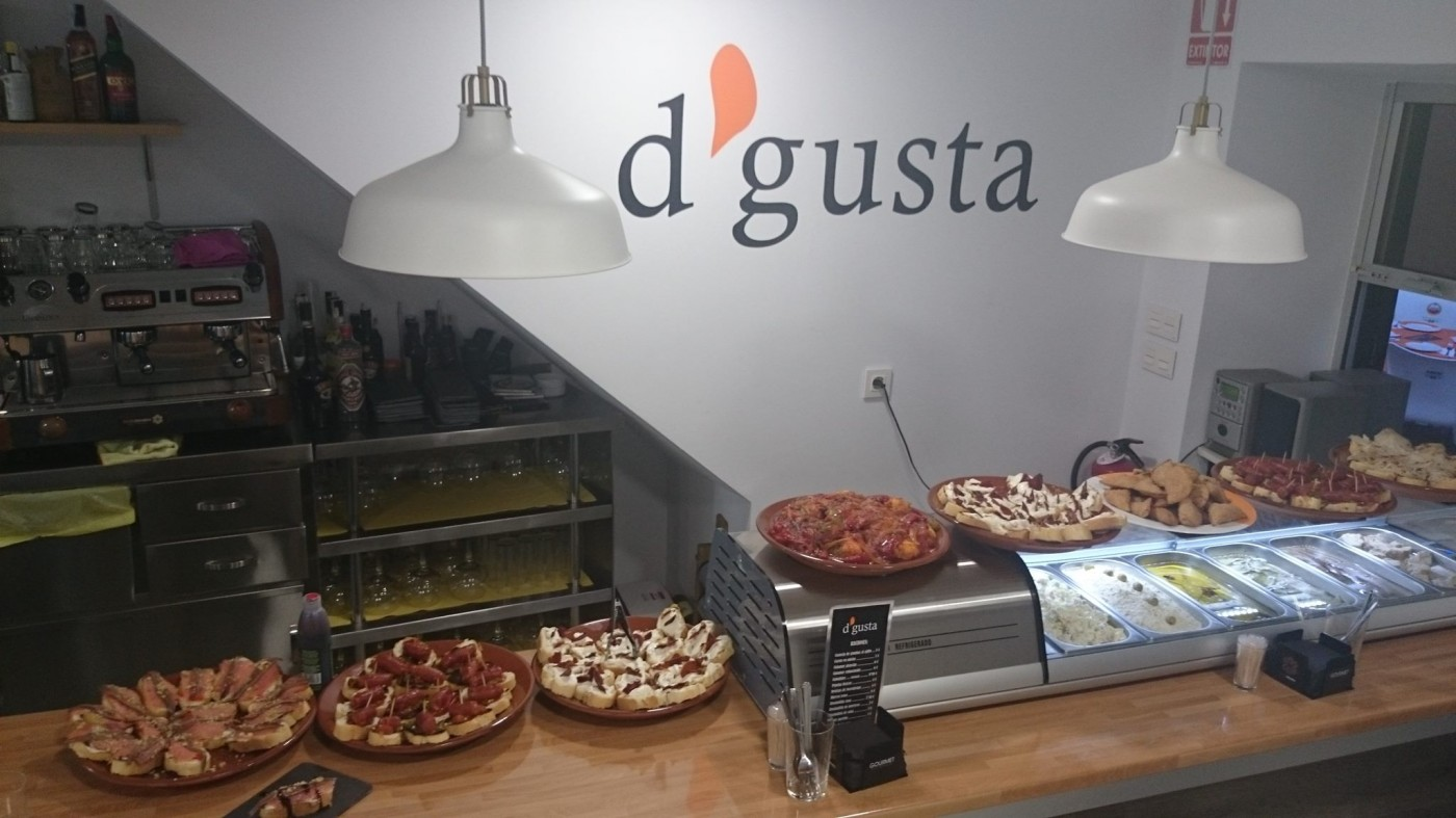 D'gusta tapas bar and restaurant in Caravaca de la Cruz