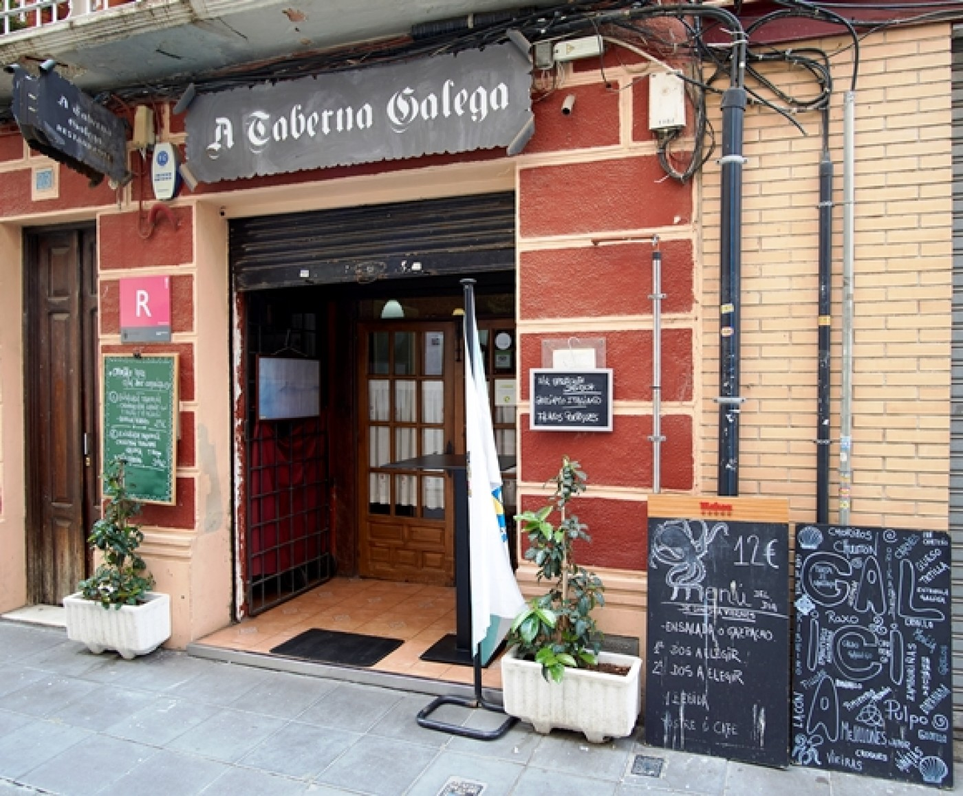 A Taberna Gallega, Galician restaurant in Cartagena