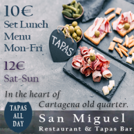 San Miguel Restaurant and Tapas Cartagena