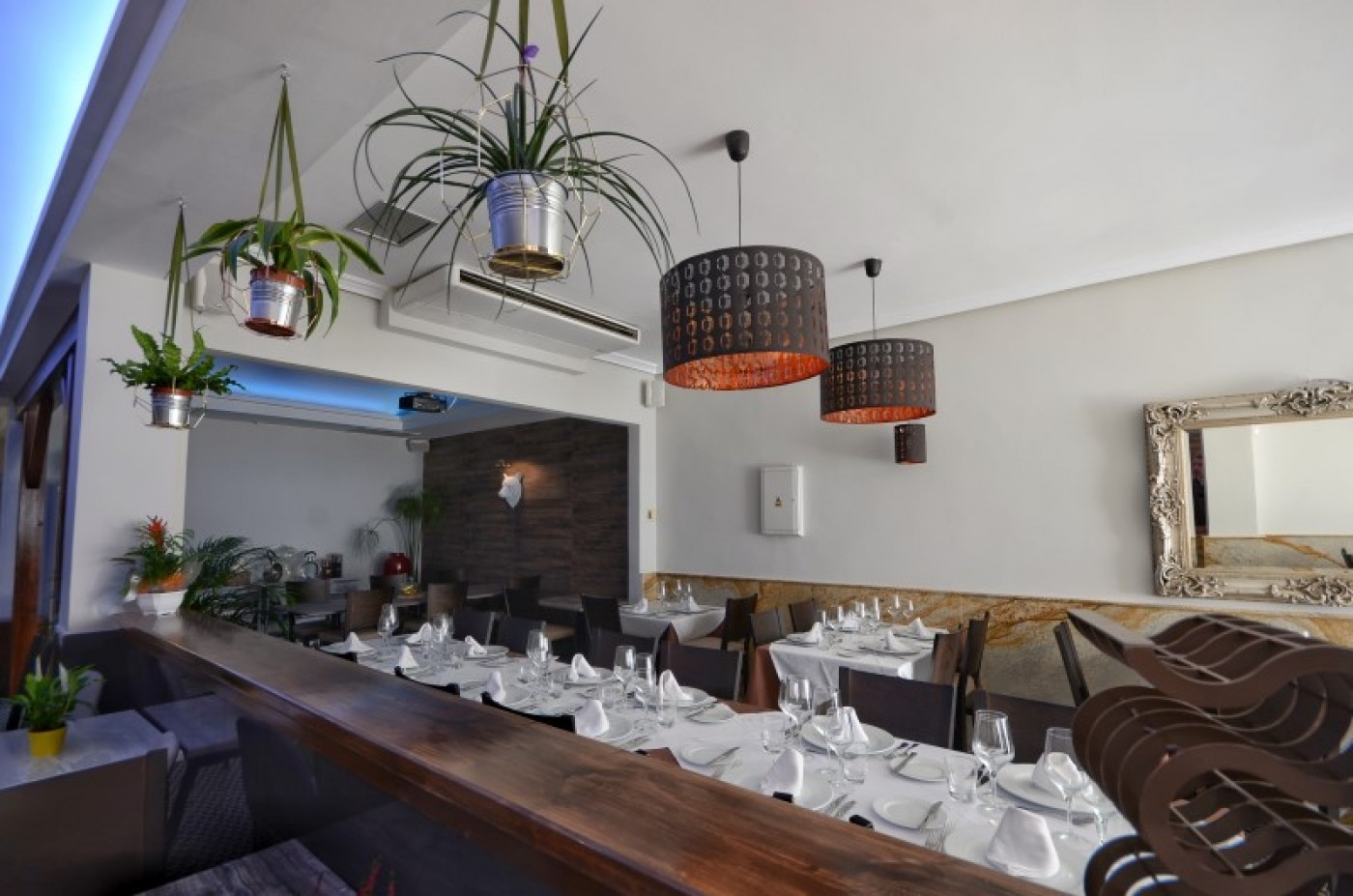 The Oso Blanco in Fuente Álamo offers the best of British and Mediterranean cuisine