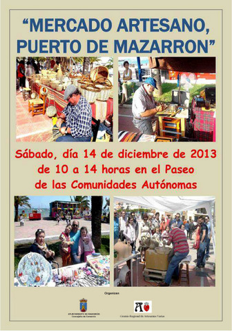 <span style='color:#780948'>ARCHIVED</span> - 14th December, artisan market, Puerto de Mazarrón