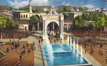 Paramount Park and Lifestyle Center Madrid presentation