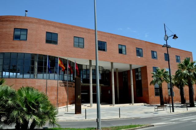 Cultural Centre Ramón Alonso Luzzy in Cartagena