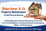 Brian Jones and Company Property Maintenance and Building Works Puerto de Mazarron