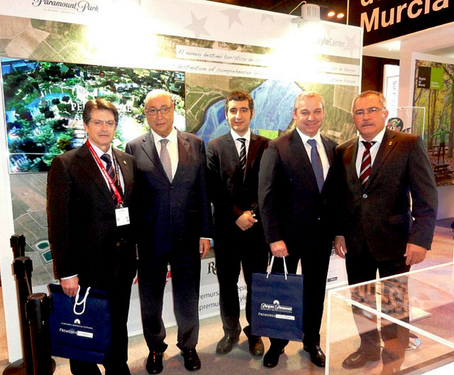 Murcia presents the Paramount Park project in Fitur