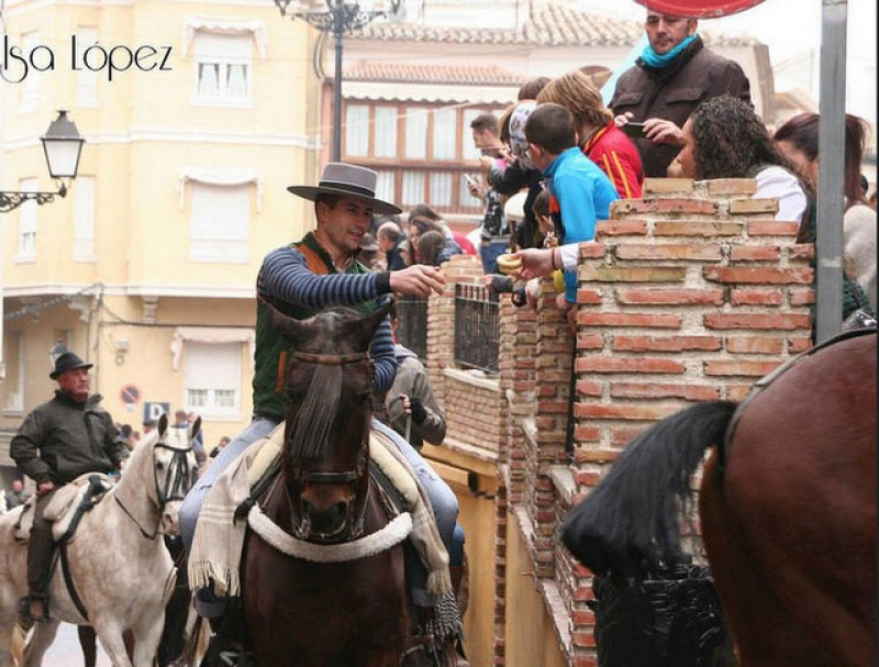 <span style='color:#780948'>ARCHIVED</span> - 17th January San Anton in the Region of Murcia