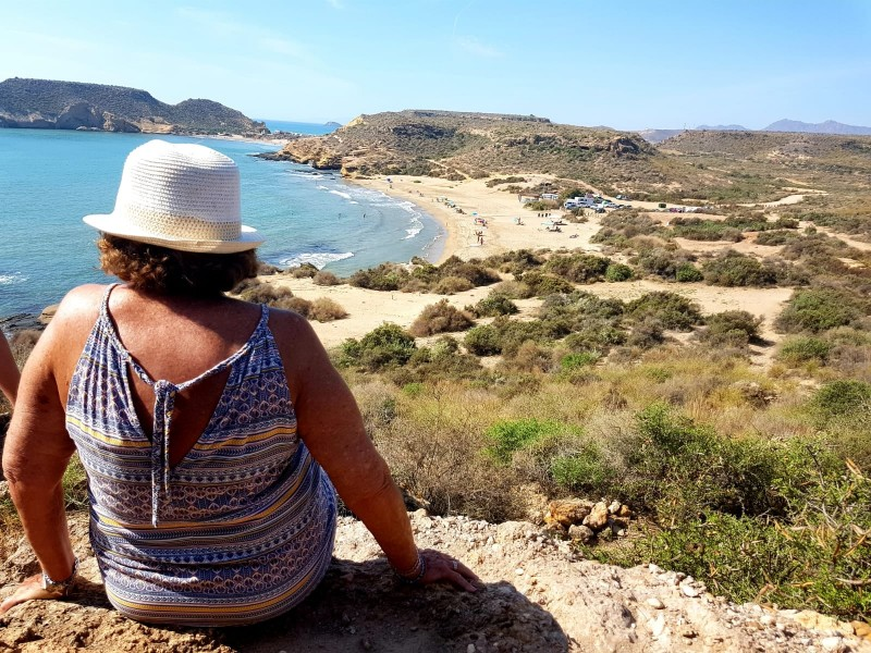 Sunday 26th January explore the Cuatro Calas coastline of Águilas with this FREE 4km coastal walk