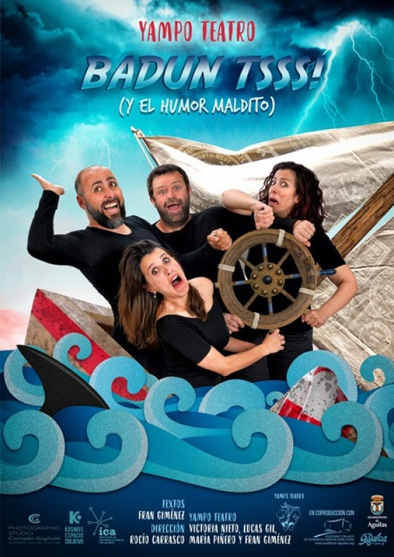<span style='color:#780948'>ARCHIVED</span> - Friday 7th February Yampo Theatre presents Badun Tsss at the Águilas Auditorium