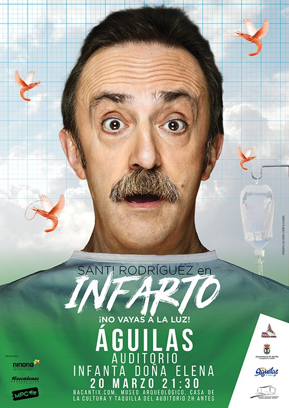 <span style='color:#780948'>ARCHIVED</span> - 20th March Infarto: adult theatre in Águilas