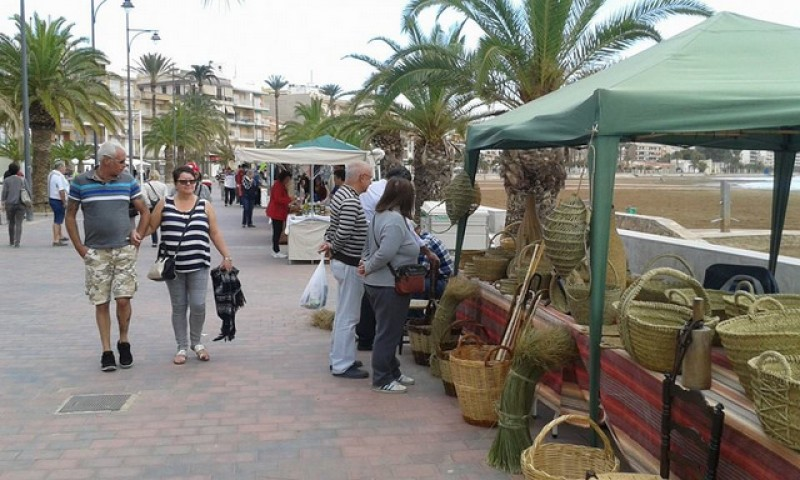 <span style='color:#780948'>ARCHIVED</span> - Saturday 18th January Puerto de Mazarrón artisan market