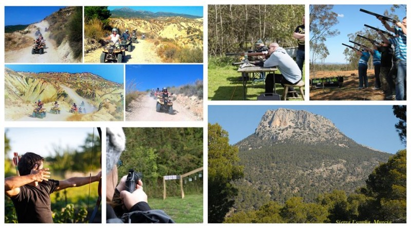 <span style='color:#780948'>ARCHIVED</span> - Hotel Mariposa January offer; quad biking, lunch and laser clay pigeon shooting day