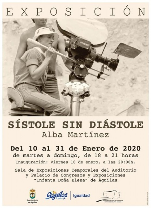<span style='color:#780948'>ARCHIVED</span> - 10th to 31st January Águilas: Sistole sin Diastole