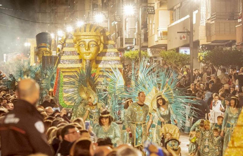 Online booking for seats at the main 2020 Carnival parades in Águilas