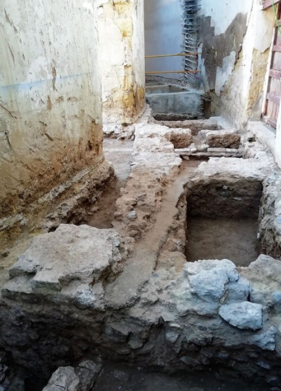 <span style='color:#780948'>ARCHIVED</span> - Another gladiator chamber found at the Roman amphitheatre in Cartagena