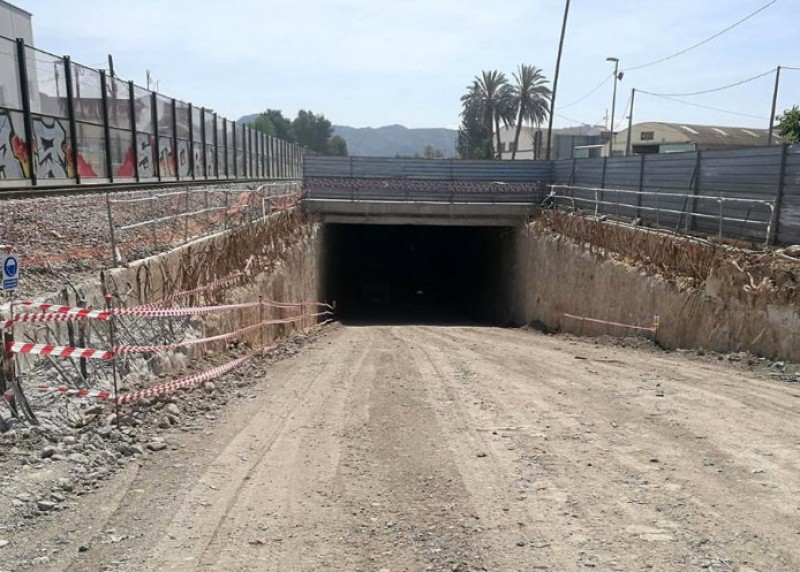 <span style='color:#780948'>ARCHIVED</span> - High-speed rail tunnel into the centre of Murcia progressing well
