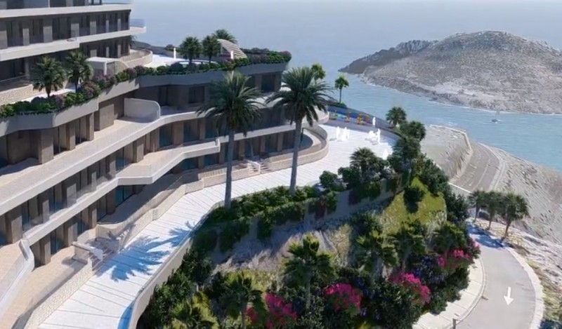 <span style='color:#780948'>ARCHIVED</span> - 165 new homes to be built in the Isla del Fraile resort just outside Águilas