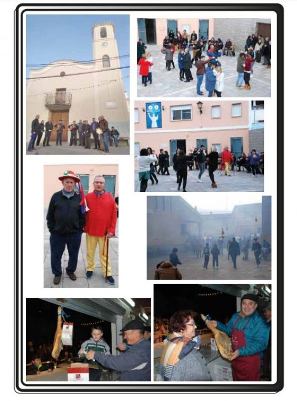 <span style='color:#780948'>ARCHIVED</span> - 18th and 19th January 2020 fiestas of San Antón in La Copa, Bullas