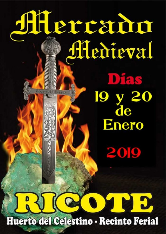 <span style='color:#780948'>ARCHIVED</span> - 18th and 19th January Medieval Market in Ricote